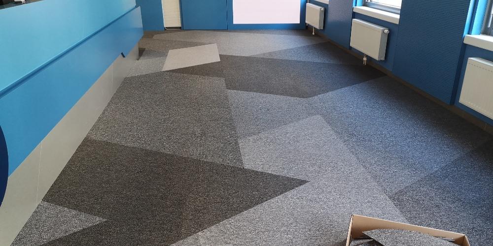 Новая ковровая плитка Capital